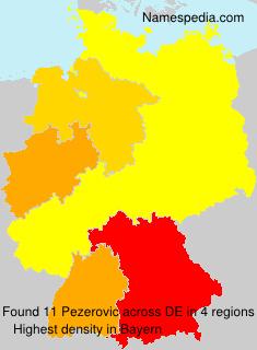 Surname Pezerovic in Germany