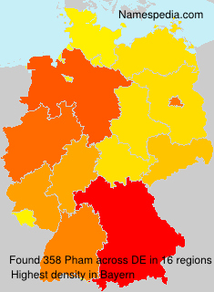 Familiennamen Pham - Germany