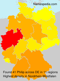 Surname Philip in Germany