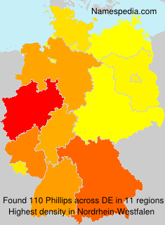 Familiennamen Phillips - Germany