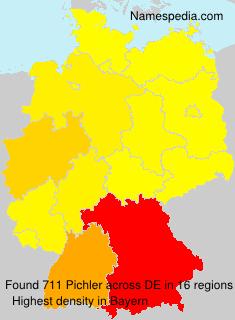 Surname Pichler in Germany