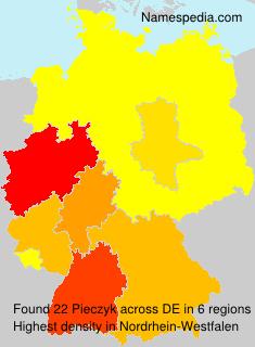 Surname Pieczyk in Germany