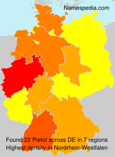 Surname Pielot in Germany