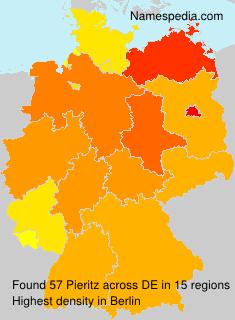 Surname Pieritz in Germany