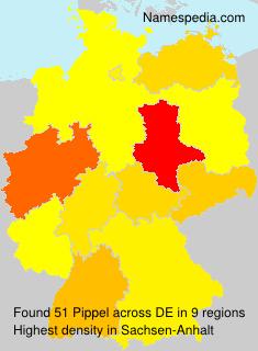 Familiennamen Pippel - Germany