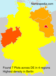 Surname Plots in Germany