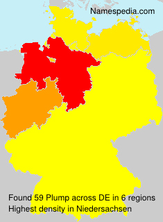 Familiennamen Plump - Germany