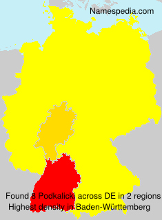 Surname Podkalicki in Germany