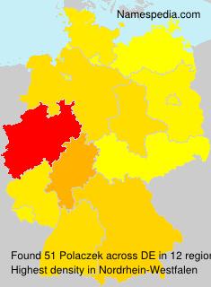 Surname Polaczek in Germany
