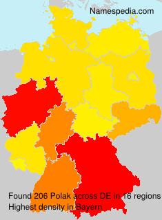Surname Polak in Germany