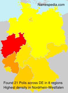 Surname Polis in Germany