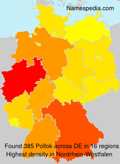 Surname Pollok in Germany