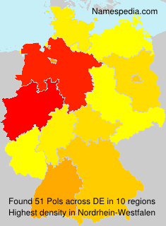 Surname Pols in Germany