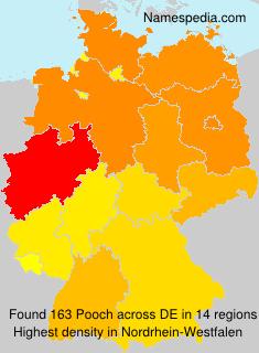 Surname Pooch in Germany