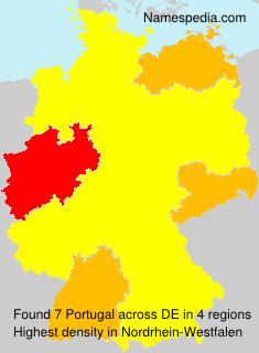 Familiennamen Portugal - Germany