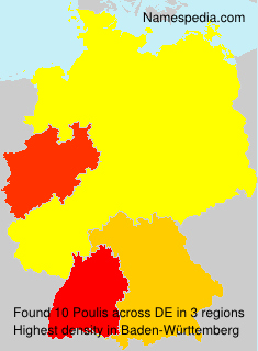 Surname Poulis in Germany