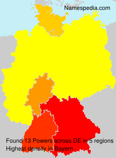 Surname Powers in Germany