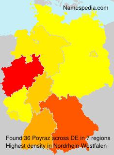 Surname Poyraz in Germany