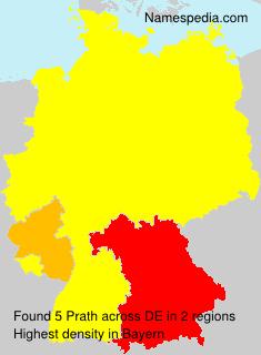 Surname Prath in Germany