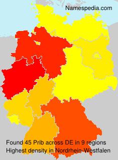 Surname Prib in Germany
