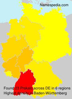 Surname Prskalo in Germany
