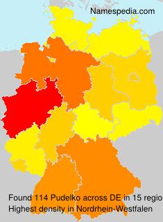 Familiennamen Pudelko - Germany