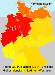 Surname Puls in Germany