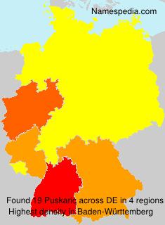 Surname Puskaric in Germany
