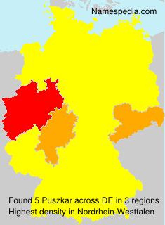 Familiennamen Puszkar - Germany