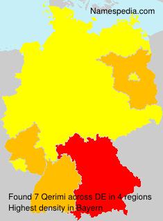 Surname Qerimi in Germany