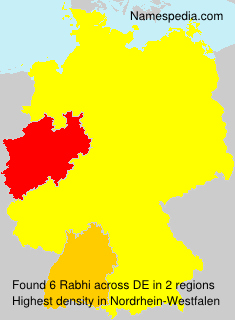 Surname Rabhi in Germany