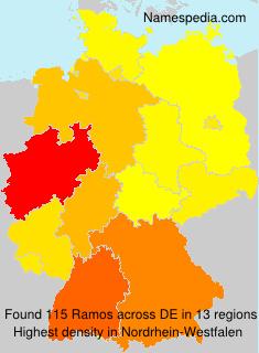 Familiennamen Ramos - Germany