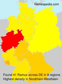 Familiennamen Ramus - Germany