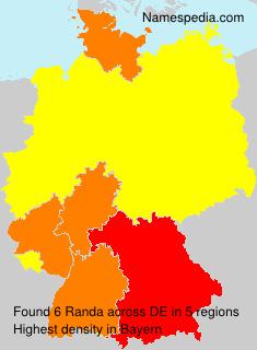 Surname Randa in Germany
