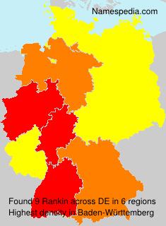 Familiennamen Rankin - Germany