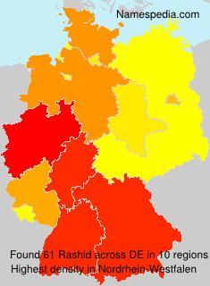 Familiennamen Rashid - Germany