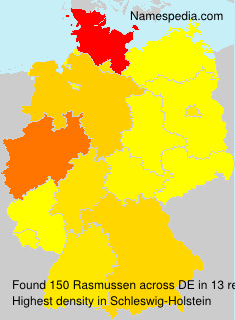 Surname Rasmussen in Germany