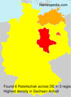 Surname Rateitschak in Germany
