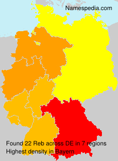 Surname Reb in Germany