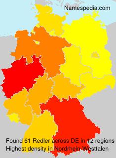 Surname Redler in Germany