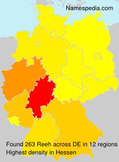 Familiennamen Reeh - Germany