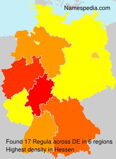 Surname Regula in Germany