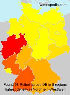 Surname Reibel in Germany