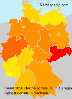 Surname Reiche in Germany