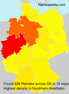 Surname Reineke in Germany