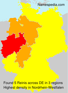 Surname Reinis in Germany