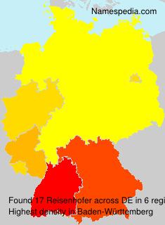 Surname Reisenhofer in Germany