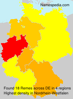 Surname Remes in Germany