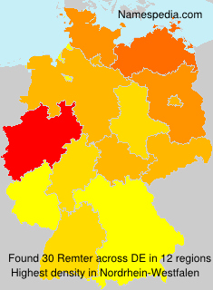 Surname Remter in Germany