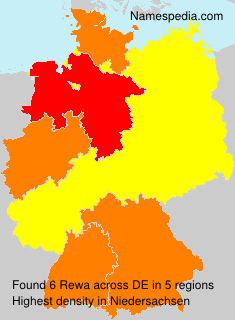 Surname Rewa in Germany